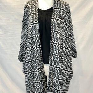 3/30: cardigan shawl